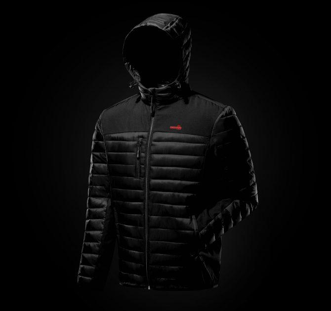 Black On Black Coat