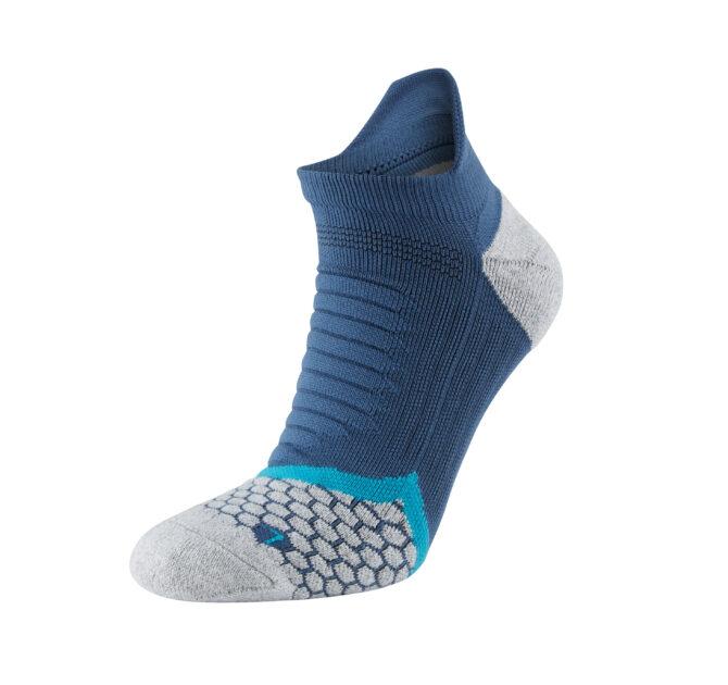 Cushioning Low Sock Blue Single 2