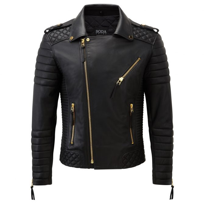 1540 Leather Jacket Front 2 1521 1540