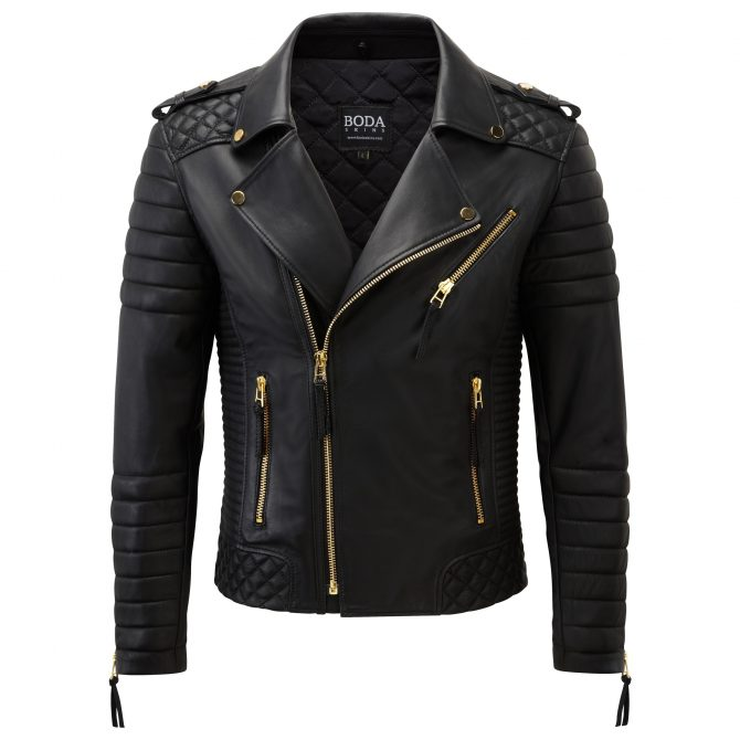 1541 Leather Jacket Front 1522 1541