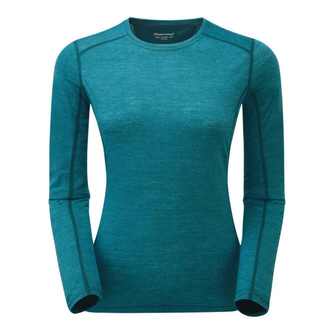 Womens Primino 140g Long Sleeve T Shirt Zanskar blue