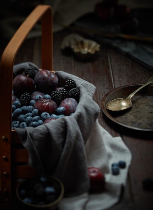 Dark fruit basket 1