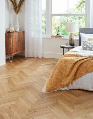 Flooring photography Engineered Village Herringbone Natural Oak Brushed Oiled 1