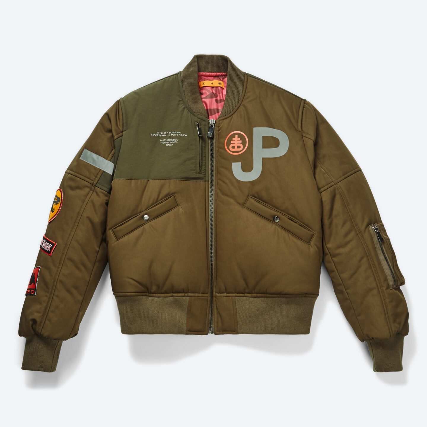 18M O01T Site D Tactical Bomber Green Front