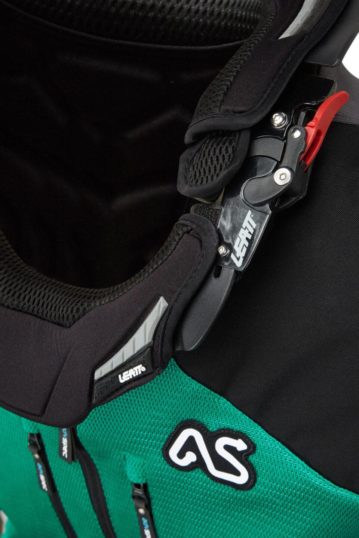 Atacama Race Jacket Green Detail 1
