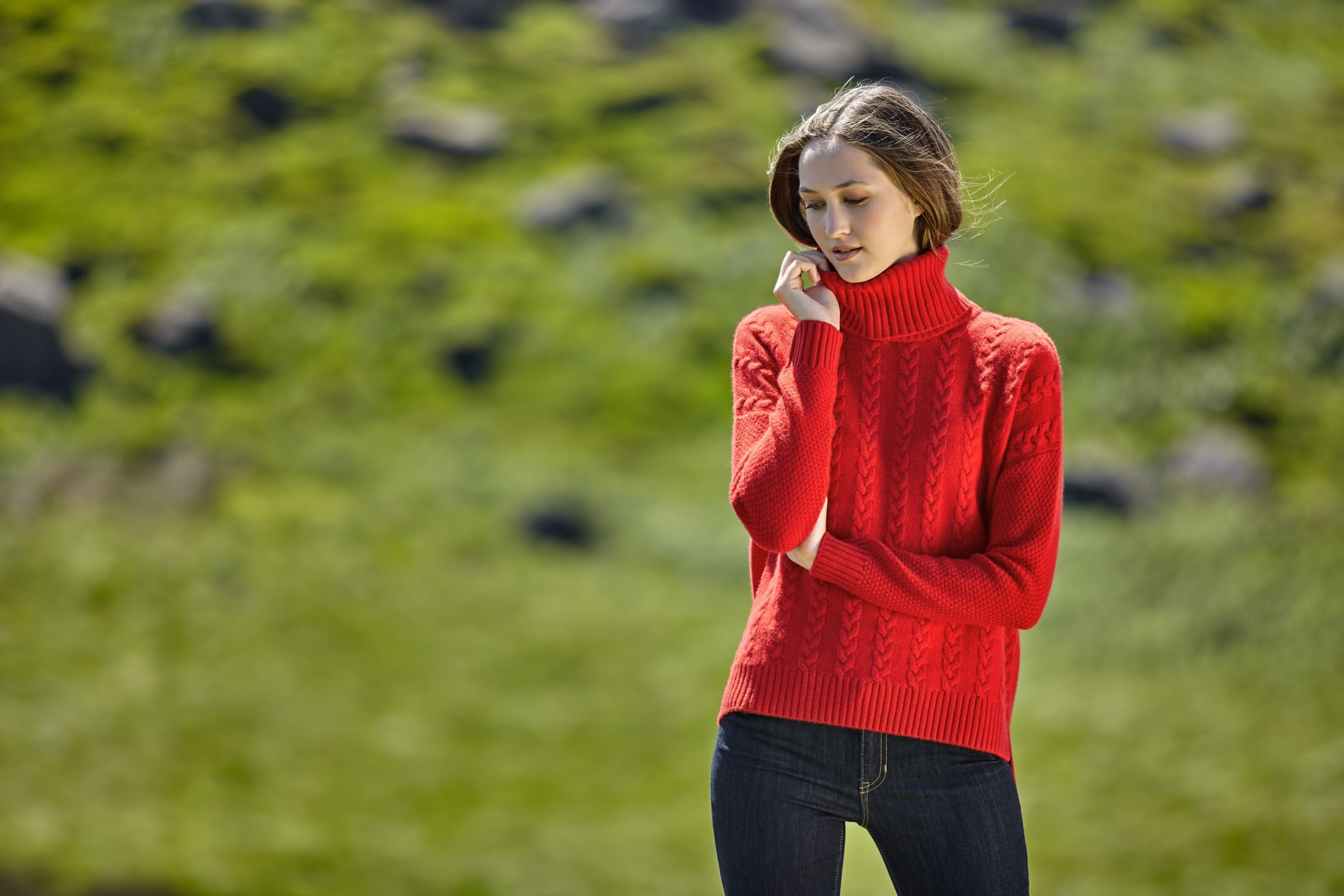 Red Sweater 4678