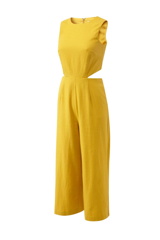 Yellow Jumpsuit Mannequin