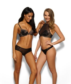 14608 Bralet Blk Thong Together 438