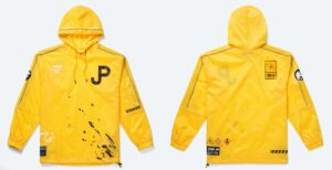 18M O07T Site D Lab Jacket Yellow Front