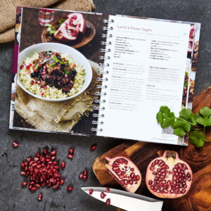 3258 Cook Book Page 76 Lamb Tagine Pomegranate