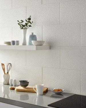 Monochrome White Cube Kitchen