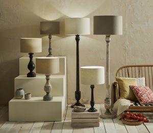 Skye Wooden Lamps Hero