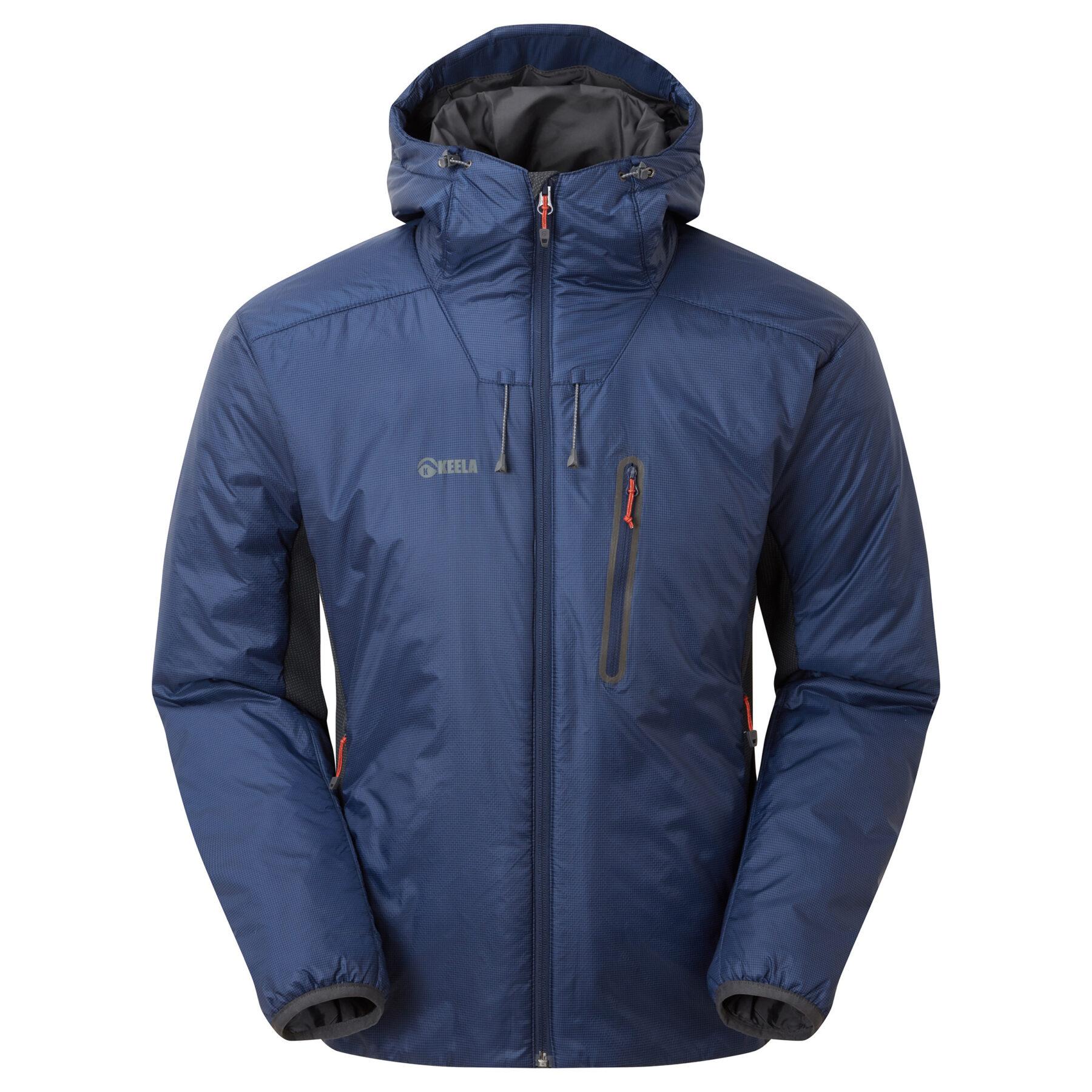 02310 Mens Talus Primaloft Jacket Deep Blue Front2