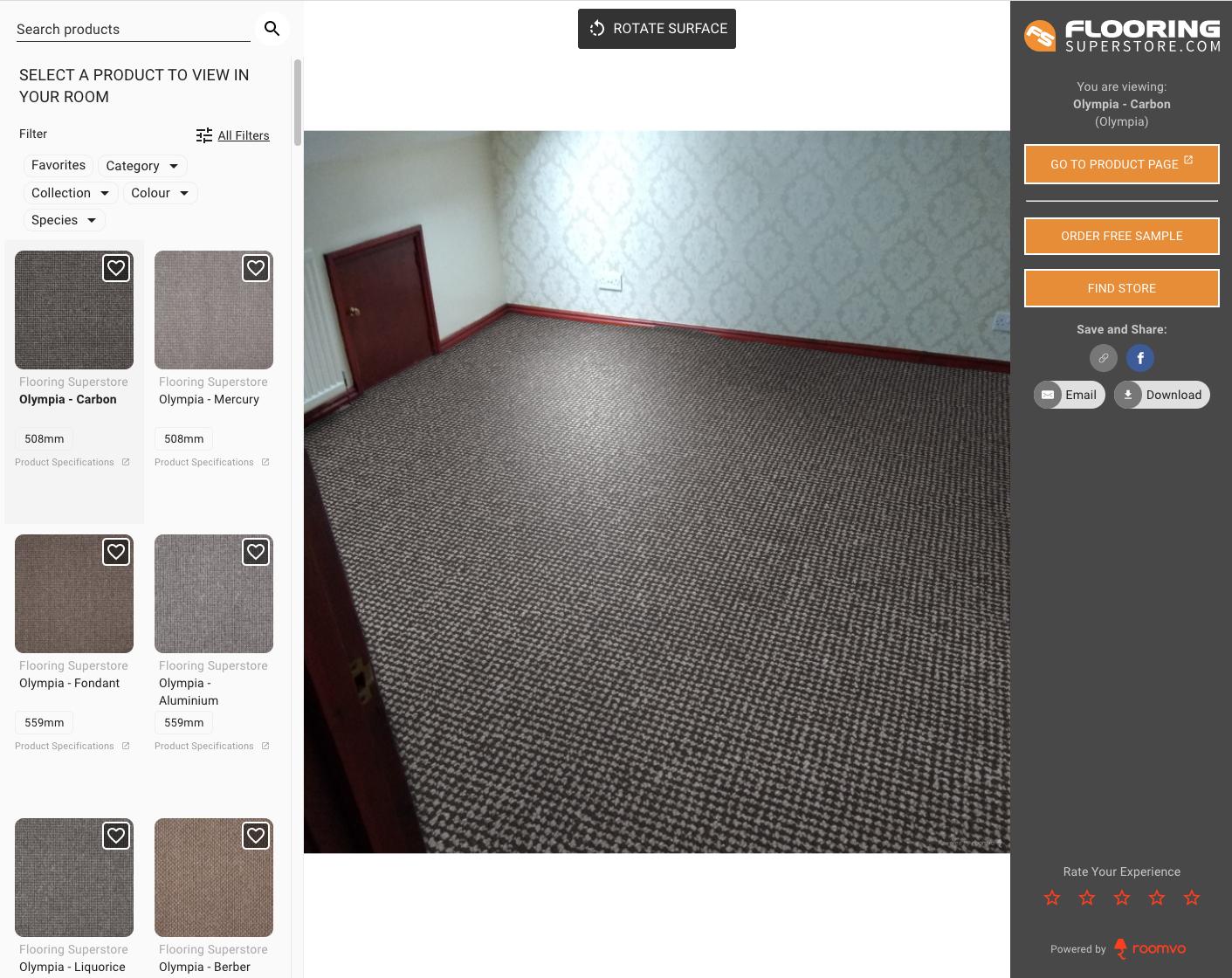 Dark Patterned Carpet